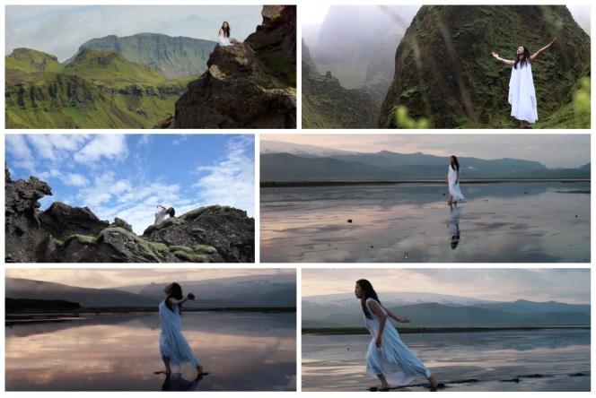 Seshen Nature site specific art film Iceland